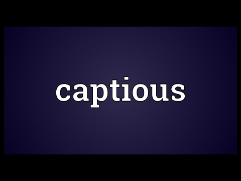 Header of captious