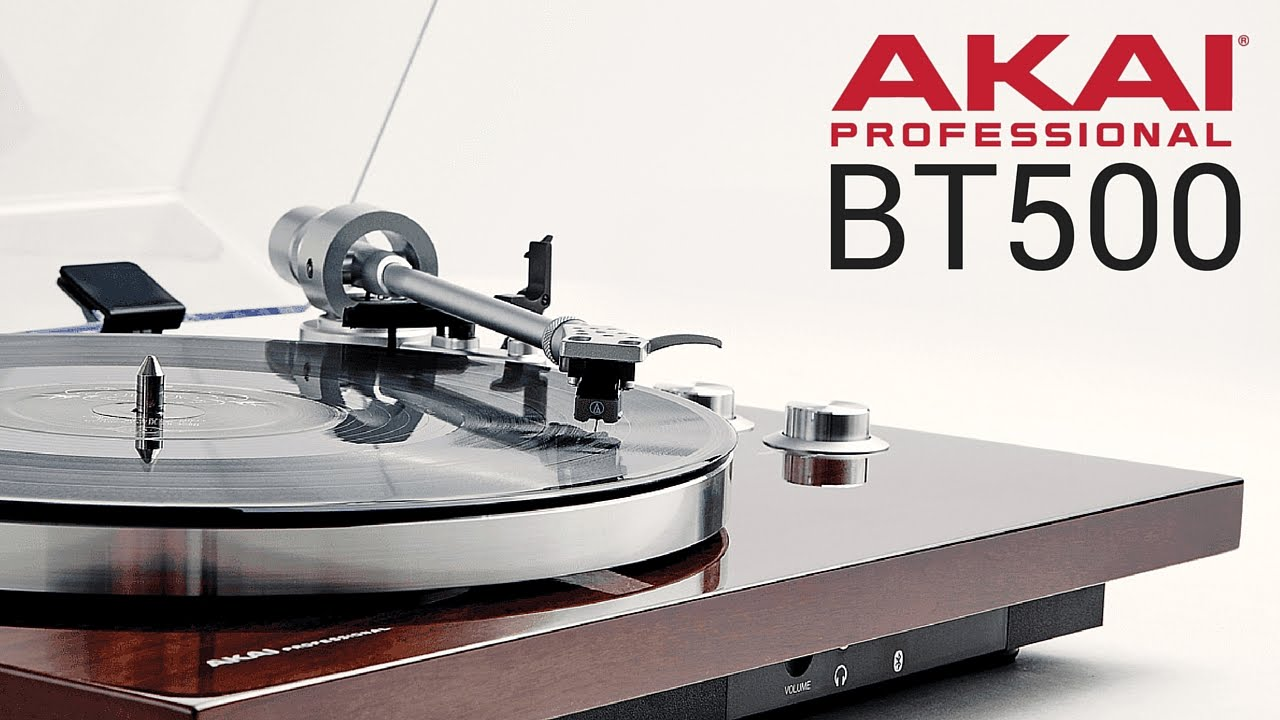 la platine vinyle courroie akai bt 500 pour audiophile. Black Bedroom Furniture Sets. Home Design Ideas