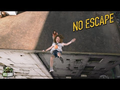No Escape (2015) - Rooftop Scene