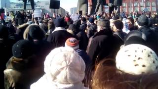 навальный в новосибирске на митинге против повышения тарифов ЖКХ на 15%