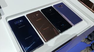 Samsung Galaxy Note 9 Color Options