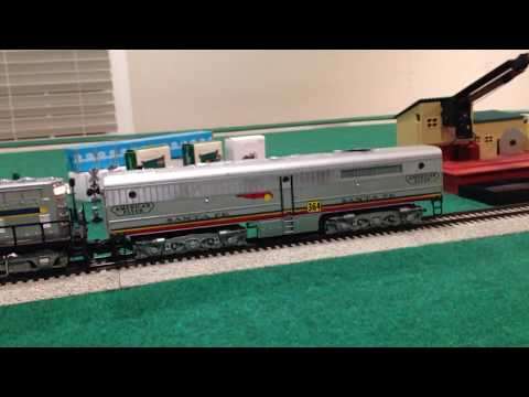 OTS: AF Santa Fe 364 Alco B-unit With Horn (For Sale)