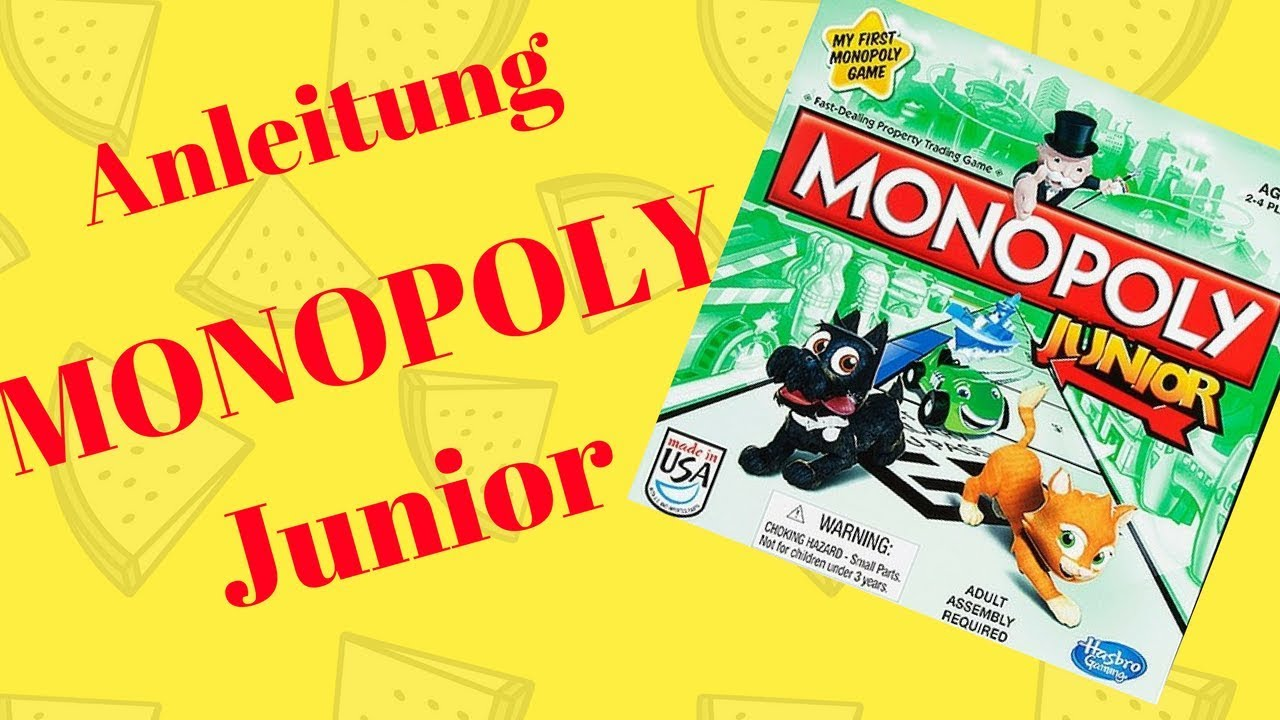 Monopoly Junior Party Anleitung