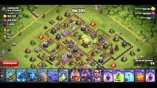 Clash of clans | clan games | 6th of challenge win 8 multi-player battles
