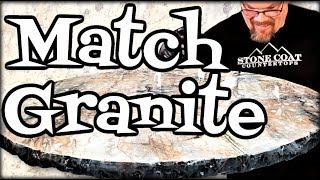 Match Granite with Epoxy
