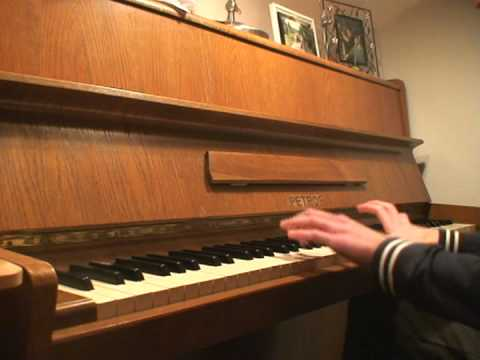 Cumplea os feliz tom veldman versio piano youtube - Cumpleanos feliz piano ...