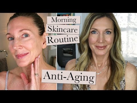 morning-anti-aging-skincare-routine-update!