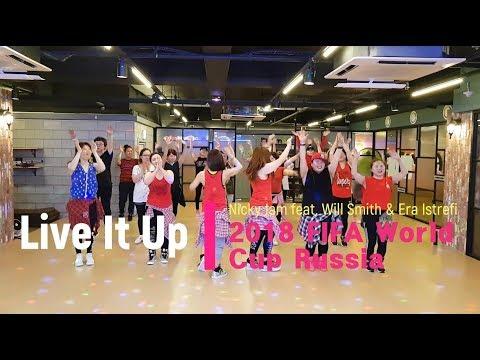 I LOVE ZUMBA / Live It Up - Nicky Jam Feat. Will Smith & Era Istrefi (2018 FIFA World Cup Russia)