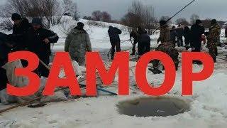 В Рязанской области «горит» озеро Велье «замор» Алеканово