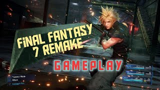 Final Fantasy 7 Remake DEMO gamplay |No Commentary|play through