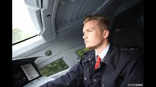 Traumjob ICE-Lokführer: Auf der Schiene mit Jonas Wenzel