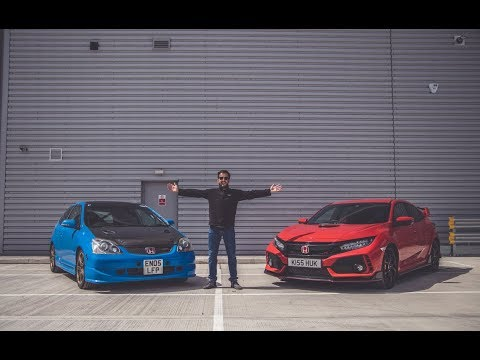 CIVIC 'TYPE R' FACE OFF *EP3 vs FK8* 🇯🇵