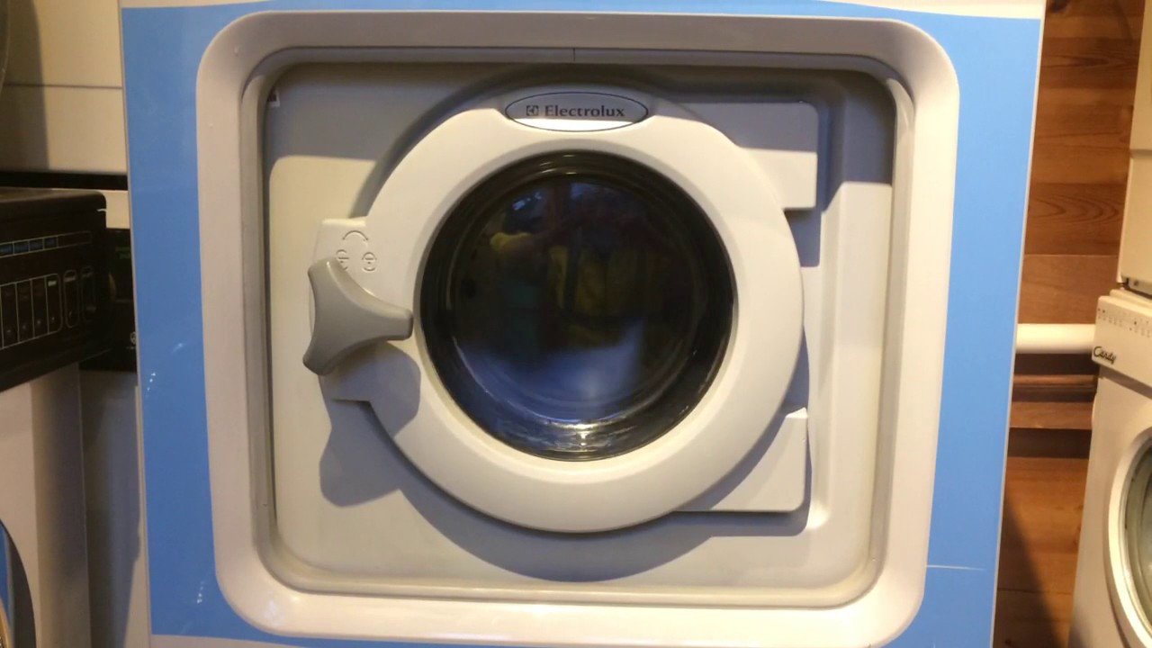 Electrolux Washer Extractor ~ Electrolux washer extractor w h start of wash youtube