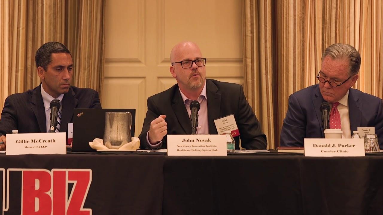 NJBIZ Panel Discussion: Health Care Technology // August 14, 2018