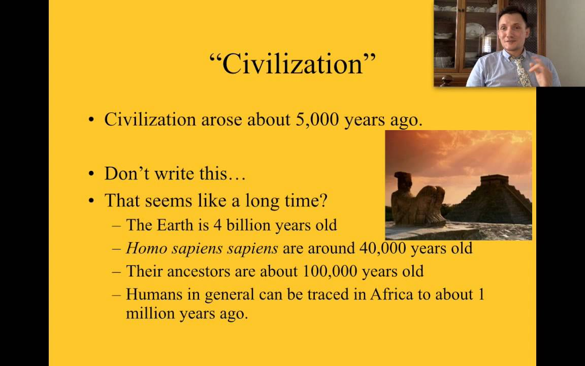 Flip #1 What makes a civilization and where did the west begin ...