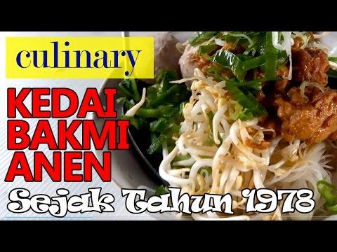 Halal Mie Abang-Abang Kedai Bakmi Anen Petamburan Sejak 1978 - Jakarta Street Food