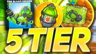 Bloons TD6 - Glue Gunner *5th tier* (THE BLOON SOLVER)