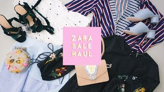 ✂ Zara 2017 Sale Haul - Unboxing & Try On Spring/Summer