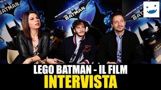 Claudio Santamaria, Alessandro Sperduti e Geppi Cucciari ci parlano di LEGO Batman - Il Film