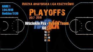 Baixar Wściekłe Psy– Rybnik Team 60:77 (RALK Playoffs 2018)