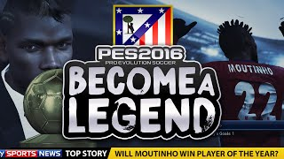 "BECOME A LEGEND! #23 |PES 2016! | ""WILL I EVER WIN PLAYER OF THE YEAR?!"""