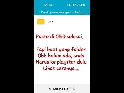 Cara Instal Apk Mod Dan Data Obb