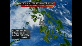 24 Oras: Weather update as of 6:23 p.m. (Dec. 17, 2017)