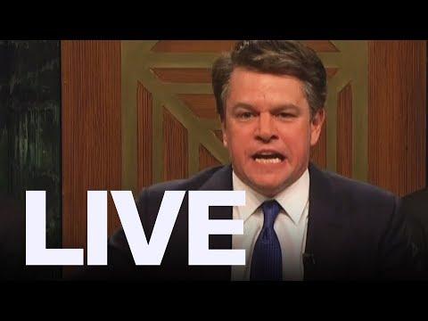 Matt Damon As Brett Kavanaugh on 'SNL'   ET Canada LIVE