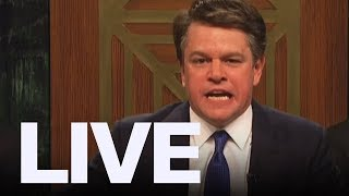 Matt Damon As Brett Kavanaugh on 'SNL' | ET Canada LIVE