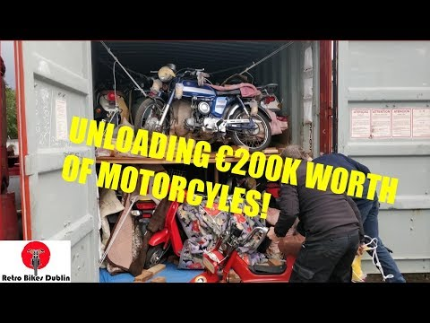Shipment 6 Arrival! - 80 Motorcycles!