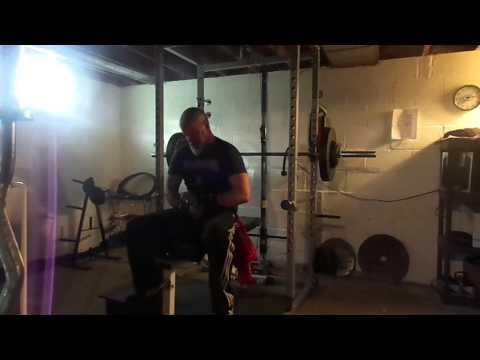 Bench Press & Power Shrugs