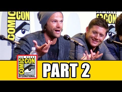 SUPERNATURAL Comic Con 2016 Panel Fan Questions (Pt2): Jared Padalecki, Jensen Ackles, Misha Collins