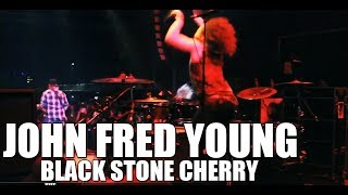 John Fred Young (Black Stone Cherry) - Drum Cam | The DrumHouse