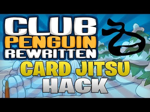 Reveal Card Jitsu Deck Hack - Club Penguin Rewritten Exploiting (See Opponent CJ Cards Hack)