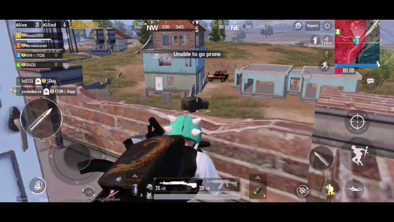 UZI VS AKM VS DP-28 || 1 VS 3 CLUTCH || INSANE RUSH GAMEPLAY || PUBG MOBLIE INDIA