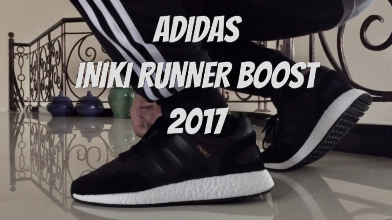 pretty nice 34778 003f5 Adidas Iniki Runner Boost (Black) 2017 On Feet