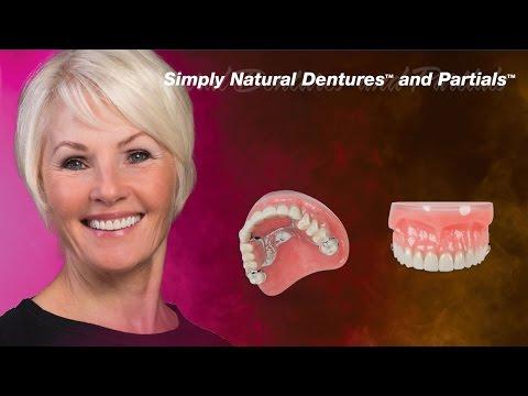 Simply Natural Dentures™ and Simply Natural Partials™