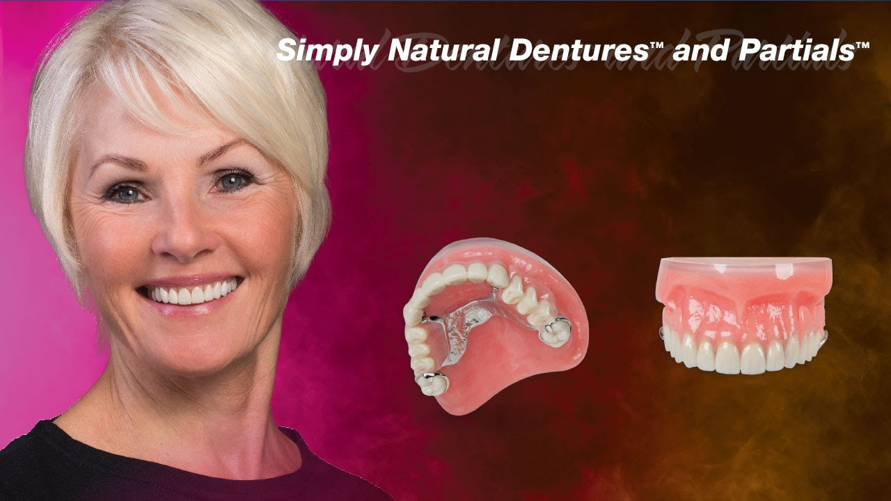 Dentures that look real