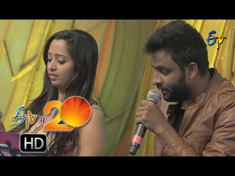 Malavika,Hemachandra Performance - Naa Pere Kanchanmala Song in Nizamabad ETV @ 20 Celebrations