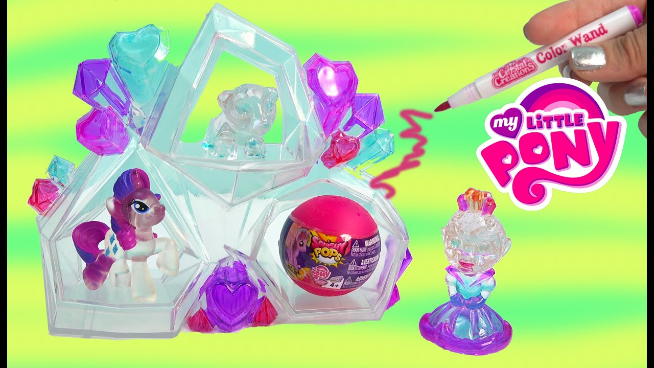 Crystal Creations Craft Princess Playset My Little Pony