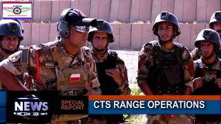 CJSOTF-I Special Report: Iraqi Counter-Terrorism Service Range Operations BAGHDAD, IRAQ 08.13.2018