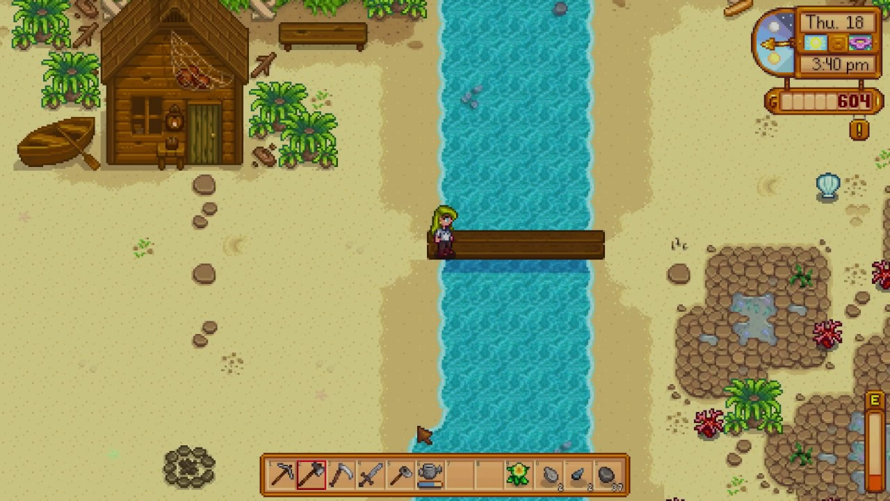How to fix Bridge on Beach - Stardew Valley