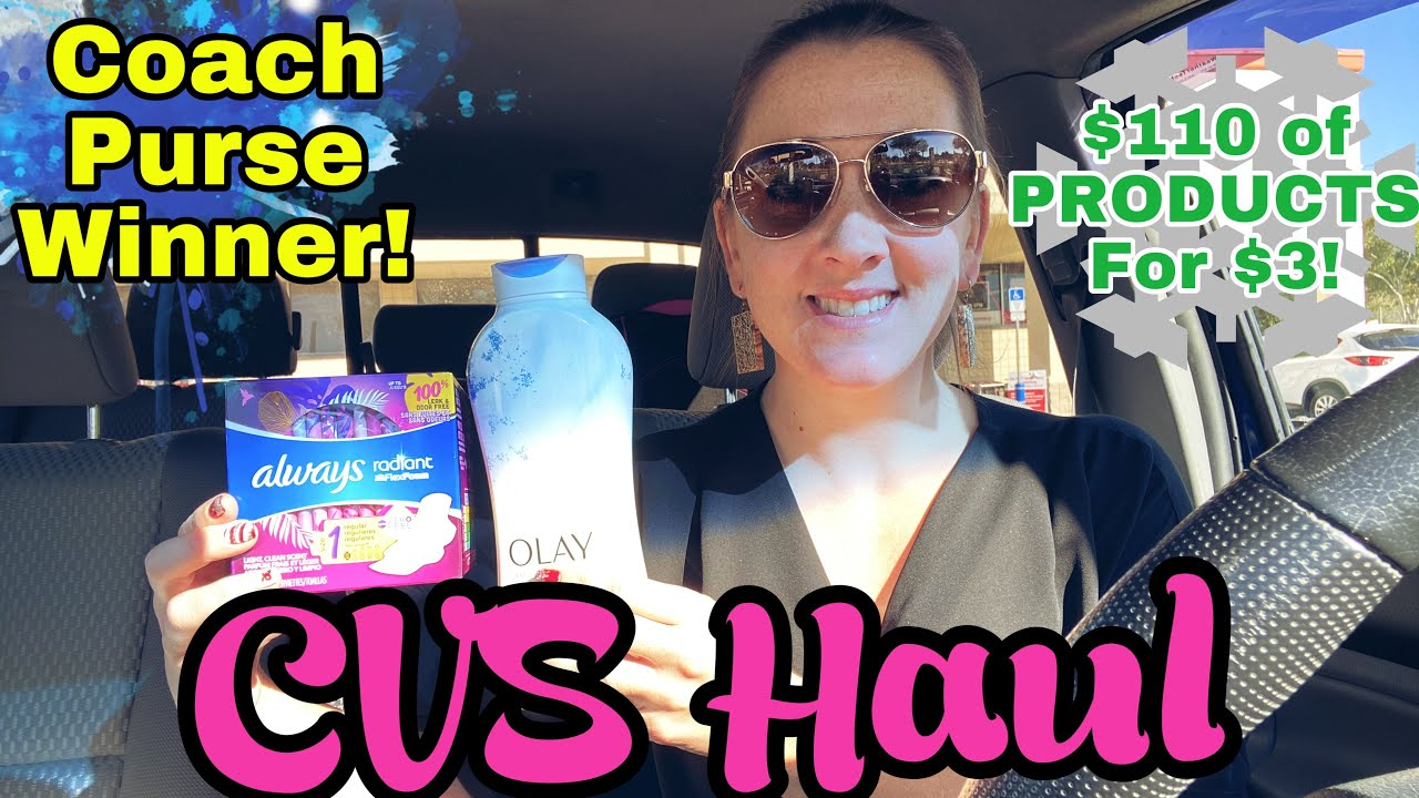 CVS Haul $110 of Products for $3!