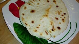 Лаваш домашний на сковороде, вкусно, быстро и легко приготовить
