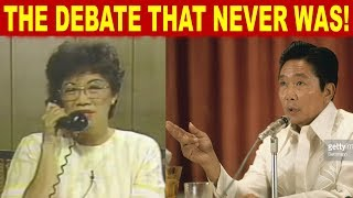 Baixar THE HISTORICAL INTERVIEW OF FERDINAND MARCOS AND CORY AQUINO BEFORE THE 1986 ELECTIONS