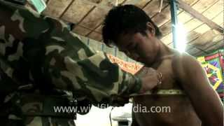 Repeat youtube video Chest measurement and BMI calculation for Indian Army aspirants, Aizawl