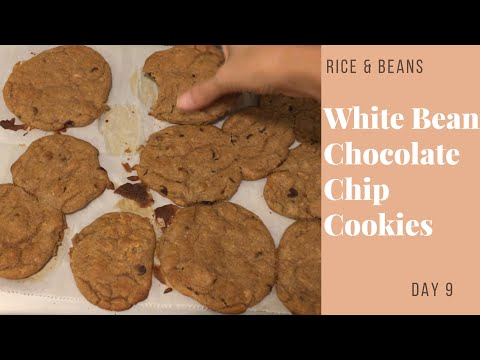 White Bean Chocolate Chip Cookies | 3.5 Stars | Rice and Beans Challenge