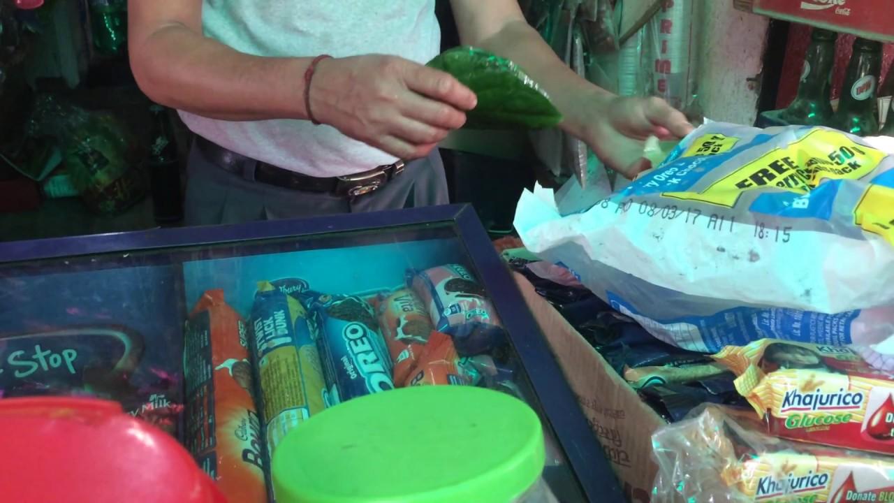 Street Food Nepal (Paan) - YouTube