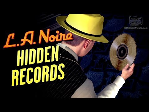LA Noire Remaster - Golden Records Locations [You Found My Tune! Trophy / Achievement]