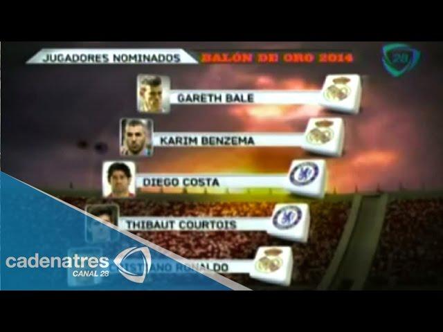 Anuncia FIFA a los 23 candidatos al Balón de Oro 2014